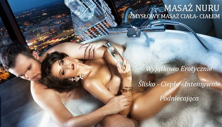 masaż intymny całym ciałem - masaż nuru - żele NGEL