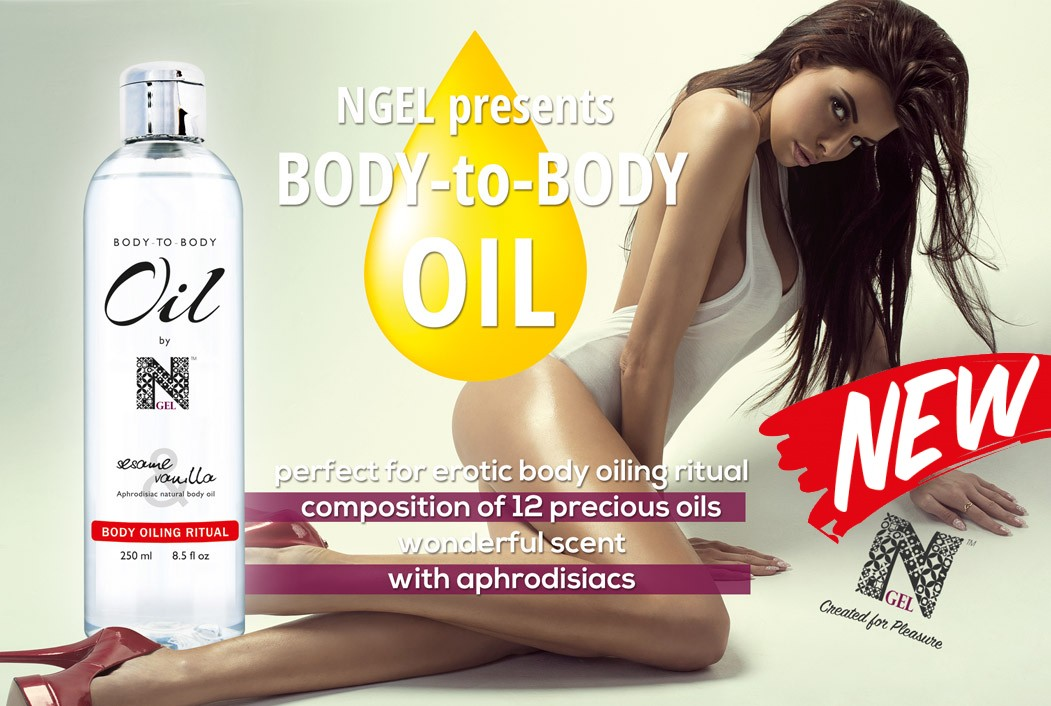 NEW!!! Body To Body Oil by NGEL