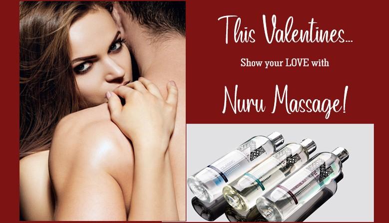 Nuru massage gel VALENTINES